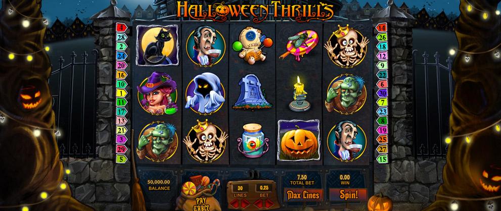 hallowe slots