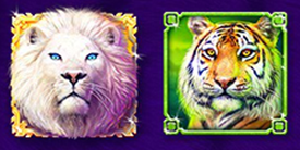 stacked symbol multipliers 1 of Silver Lion
